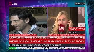 Presentan una nueva causa contra Darthés: habla Raquel Hermida
