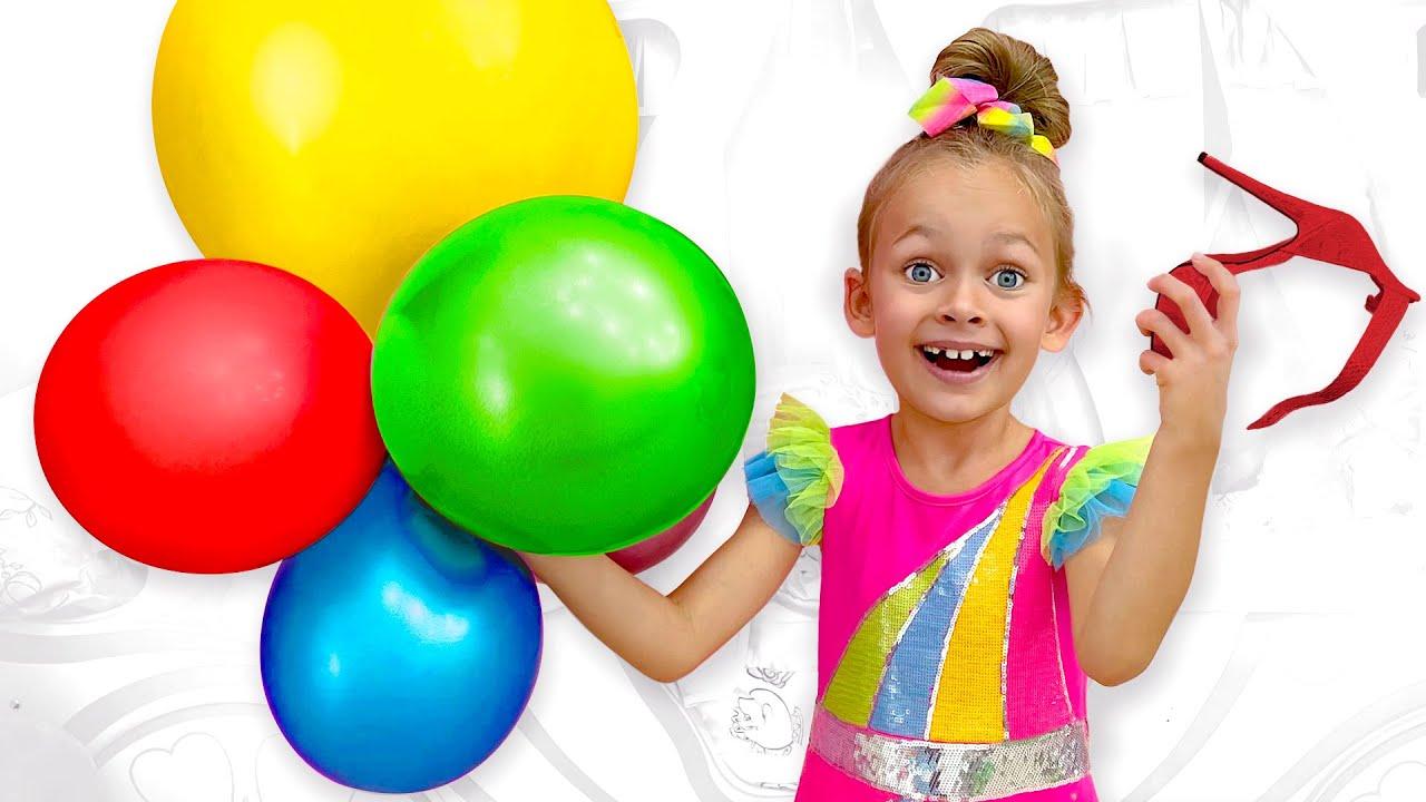 Хлоп хлоп хлоп шарики - Детская песня от Майи и Маши