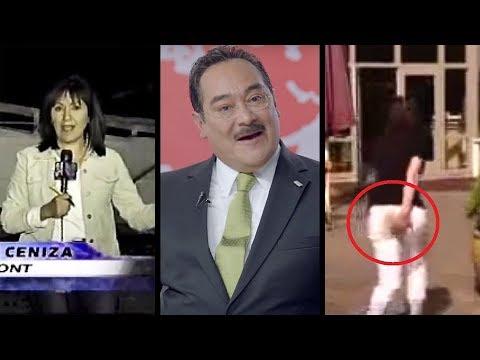 Top 7 reporteros que metieron la pata en vivo l Tops Al Chile! (Entrevistas)