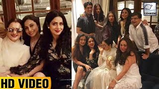 Bollywood Celebrities Attend Sridevi