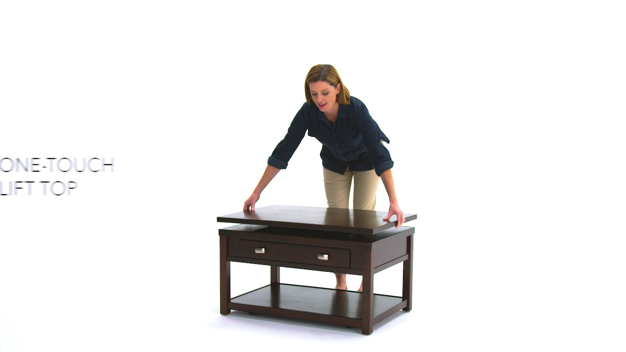 Ashley Home Hatsuko Coffee Table With Lift Top