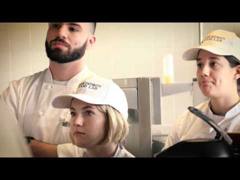 Drexel University's Culinary Arts and Food Science Programs
