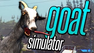 How to GOAT (Goat Simulator Funny Moments Gameplay)