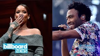 The Rihanna x Donald Glover Photo That Has Us Wondering: What Are They Working On?! | Billboard News