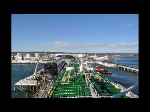 Great Eastern docking in Searsport