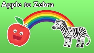 Apple to Zebra + More | Back to School ABC's | Mother Goose Club Phonics Songs