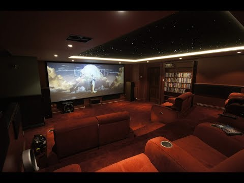 4K Home Cinema Room Time-Lapse