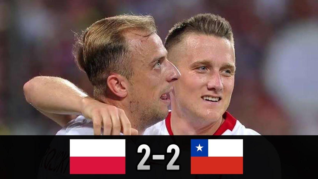 Polska - Chile 2-2 | Skrót meczu 08.06.2018 PL Komentarz [HD]