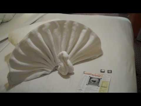 Towel origami 5 youtube towel origami 5 mightylinksfo