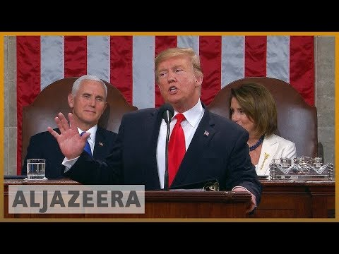 🇺🇸 State of the Union: What Trump said on wall, economy, Venezuela | Al Jazeera English