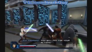 Star Wars Episode III: Revenge of The Sith The Game (Recorded on XBOX 360) Gameplay