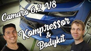 GeigerCars Chevrolet Camaro SS Compressor Videos