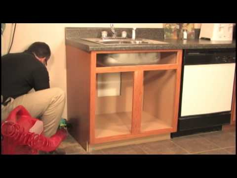 Restoring Water Damaged Cabinets - YouTube