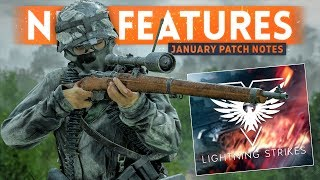 LIGHTNING STRIKES PATCH NOTES! - Battlefield 5 January Update (New Features, Changes & Fixes)