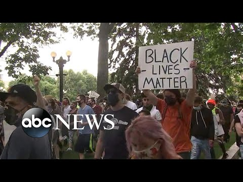 George Floyd protests spread across the US, pushing back against violence | America In Pain