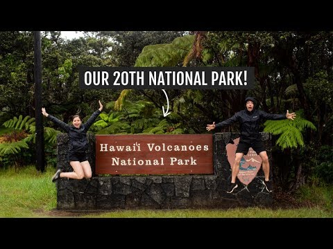 Exploring Hawaii Volcanoes National Park (Our 20th National Park!) | Big Island Day 5
