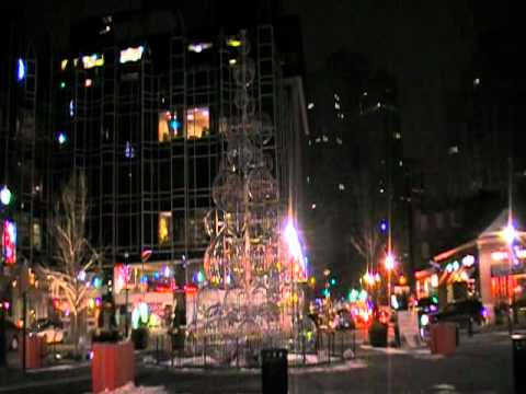 MARKET SQUARE PITTSBURGH PA 2010 CHRISTMAS.MOD - YouTube
