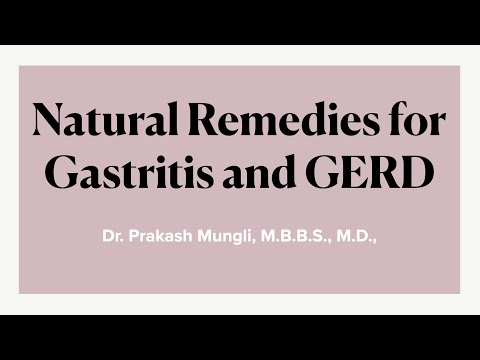 Natural Remedies for Acidity, Gastritis and GERD