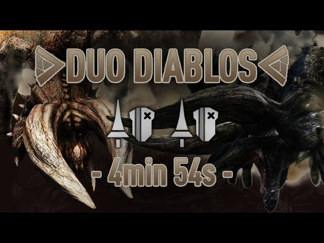DUO DIABLOS en Arène - 4'54''80 (avec Kronos)