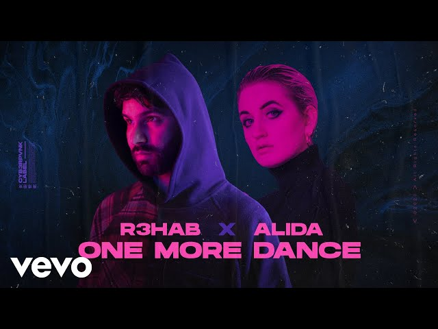 R3HAB, Alida - One More Dance (Lyrics Video)