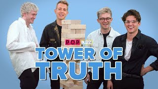 The Vamps Reveal Their Secrets In Tower of Truth | PopBuzz Meets
