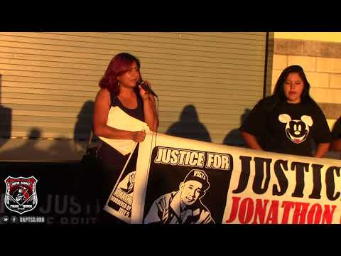 O22 SD | Nat'l Day of Protest Against Police Brutality | Families Speak