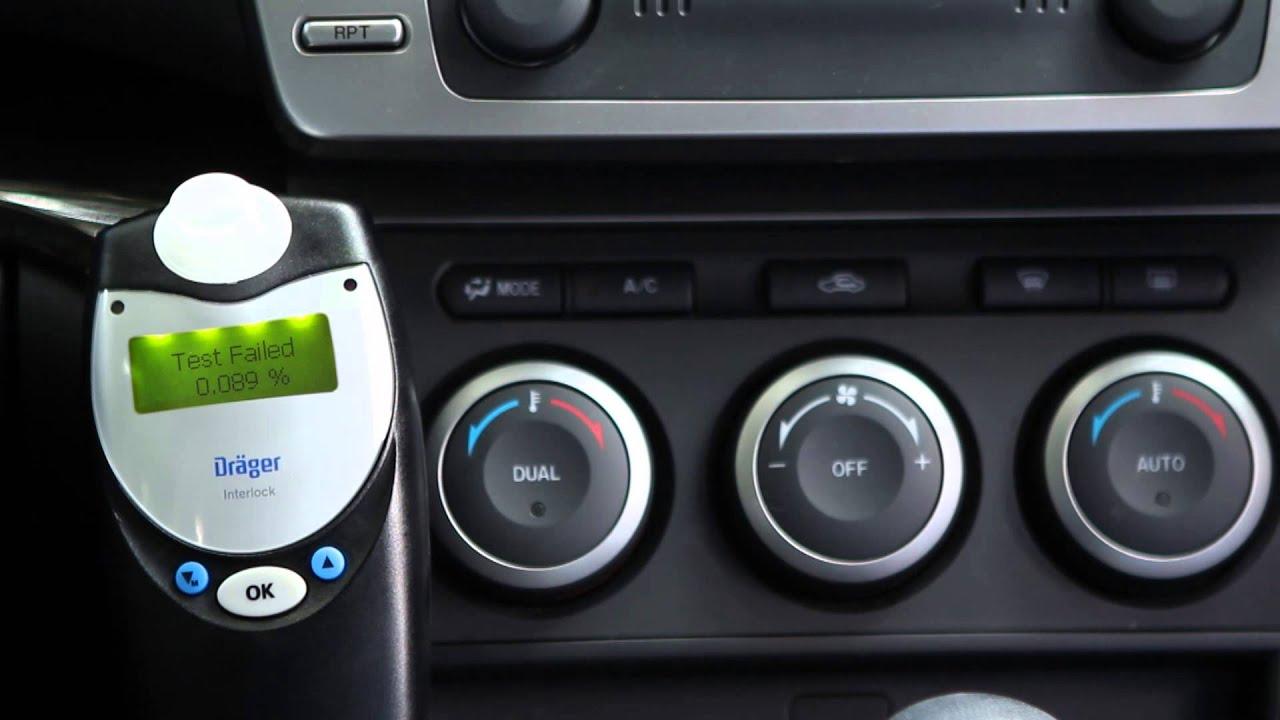 Breathalyzer For Car >> Dräger Interlock XT Training Video - Australia & New ...
