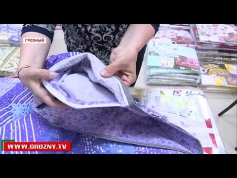 Текстильная фабрика из Иваново представила свою продукцию на ярмарке в Грозном