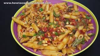 Penne Pasta Sauce Mushrooms & Tomatoes Recipe