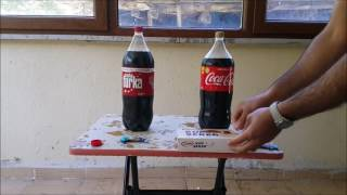 Coca Cola vs Cola Turka arasındaki fark - Mentos deneyi Resimi
