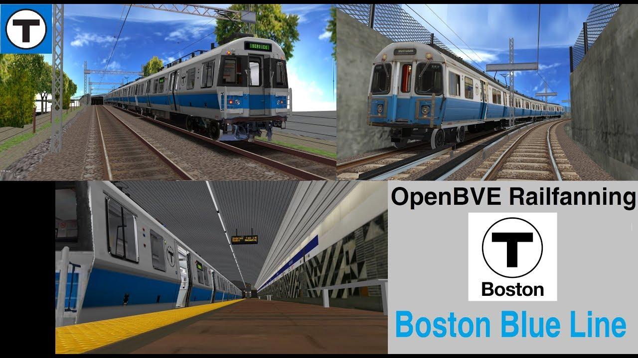 OpenBVE MBTA: The Boston T Blue Line