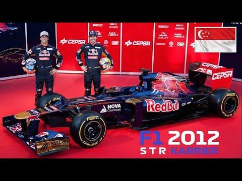 F1 2012 (PC)   TORO ROSSO   14/20 SZIGAPÚR-MARINE BAY