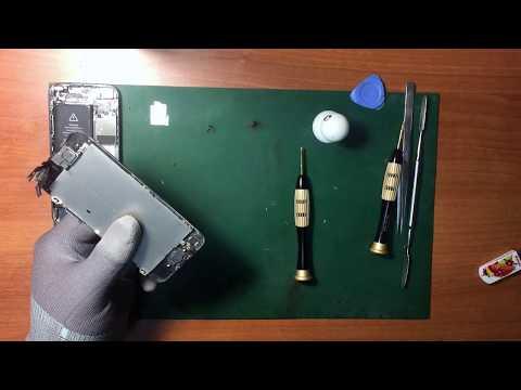 Замена экрана IPhone 5 - разборка и ремонт Iphone 5 своими руками