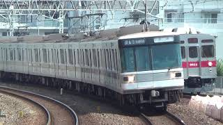【臨時回送】東京メトロ03系03-108F廃車回送前の回送通過