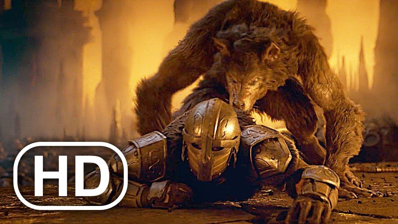 THE ELDER SCROLLS Full Movie (2020) 4K ULTRA HD Werewolf Vs Dragons All Cinematics Trailers