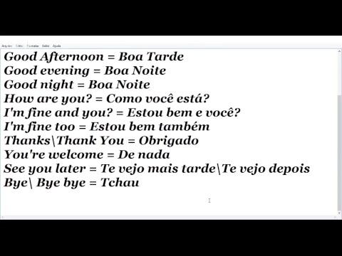 Greetings in brazilian portuguese youtube greetings in brazilian portuguese m4hsunfo