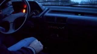 Daihatsu Charade 1.0 - Some driving