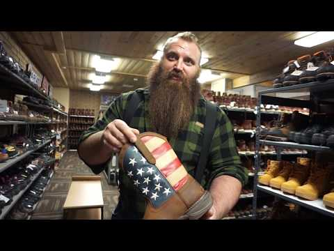 shopping queen USA boots guns and suspenders