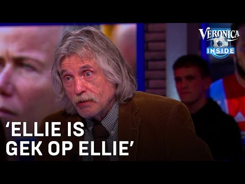 Johan stoort zich aan Ellie Lust: 'Ellie is gek op Ellie' | VERONICA INSIDE