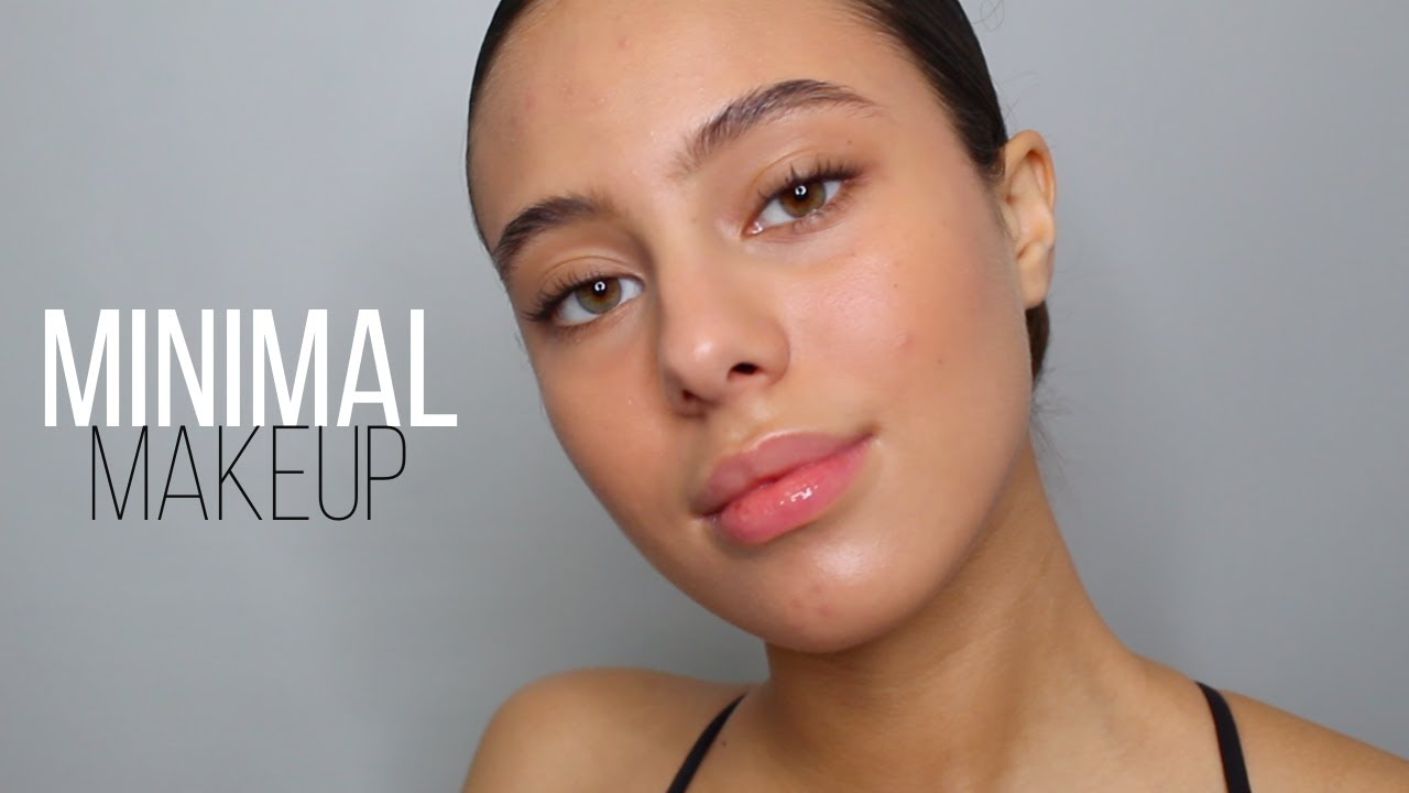 HOW TO: MINIMAL MAKEUP - 6 PRODUCTS