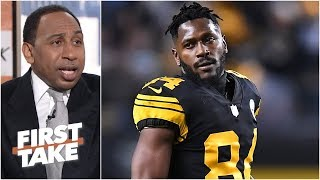 The Steelers got hoodwinked by Antonio Brown after trade with Raiders – Stephen A. | First Take
