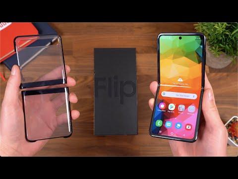 Samsung Galaxy Z Flip Unboxing!