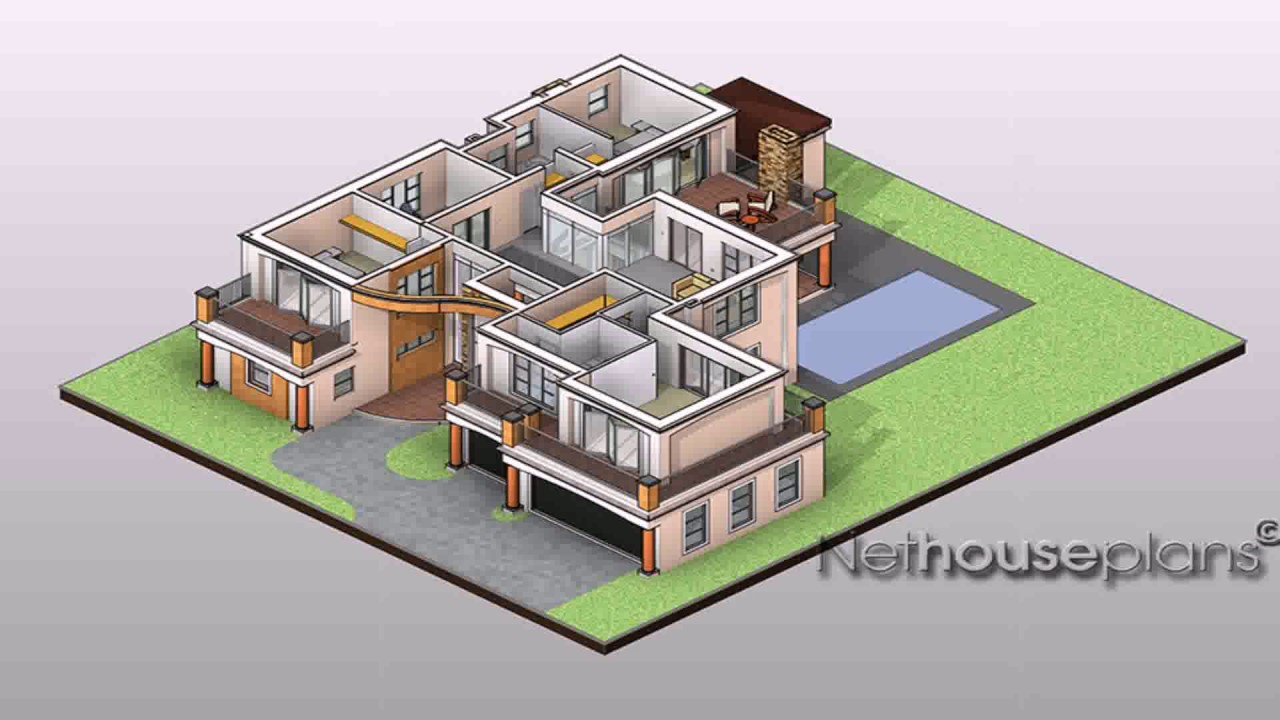 House Plans Designs Zambia - YouTube