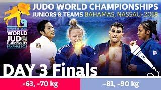 World Judo Championship Juniors 2018: Day 3 - Final Block