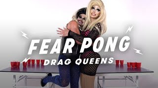 Drag Queens Play Fear Pong (She vs. Siren) | Fear Pong | Cut