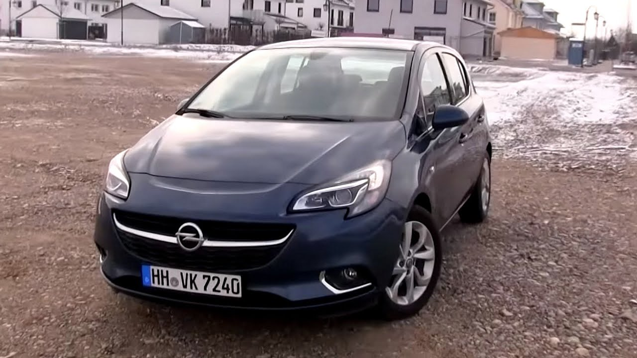 2016 opel corsa 1 4 turbo ecoflex 100 hp test drive by. Black Bedroom Furniture Sets. Home Design Ideas