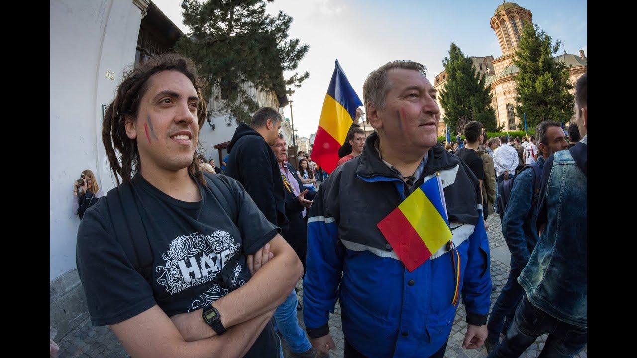 Dialog argentiniano-moldovean la Marșul Uniri / București