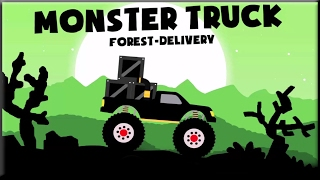 Monster Truck Forest Delivery Full Game Walkthrough (All Levels)