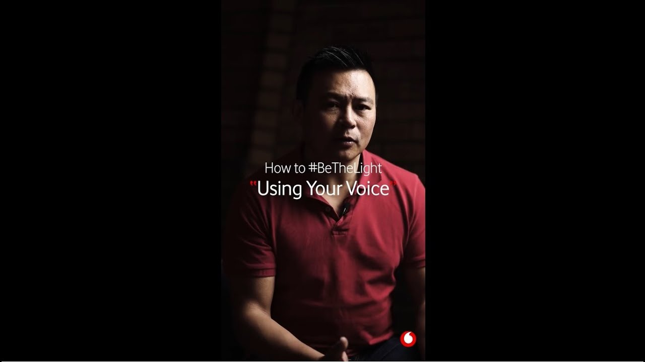 Using your VOICE - #BeTheLight Against GBV