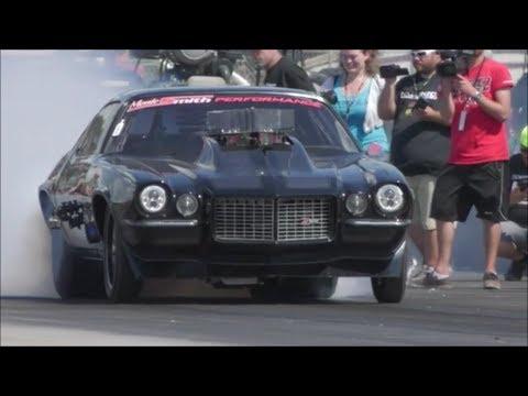 Death Trap Chuck vs Monza in a super close race at Armageddon!!!!